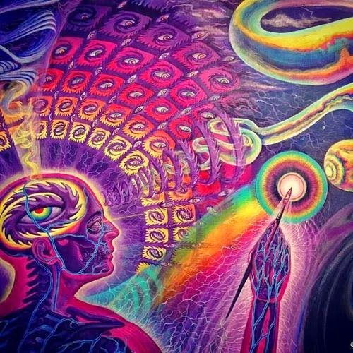 Psychic vision, Vivid Imagination, or what?